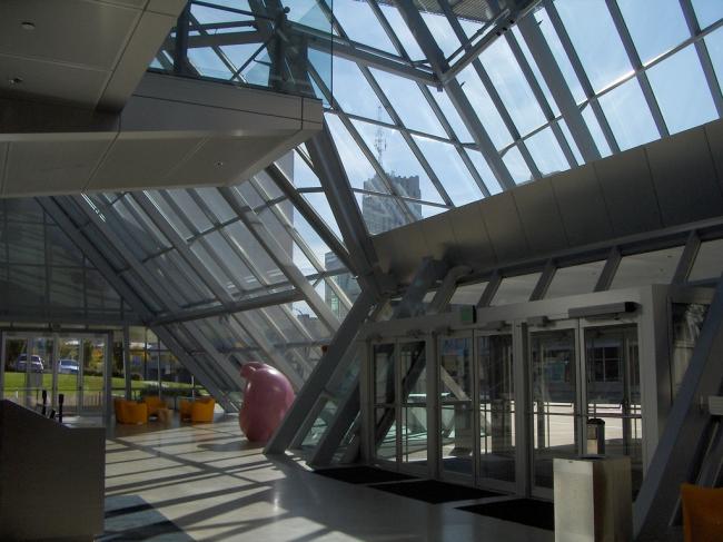 Музей искусства Экрона. Фото: b. ginley via flickr.com. Лицензия CC BY 2.0