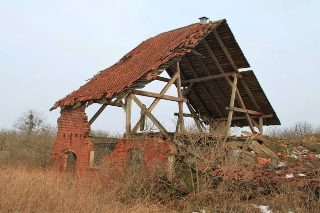 Поселок Кляйнноркиттен округи Инстербург, ныне Шлюзное Калининградской области. Фото © Mikołaj Troniewski