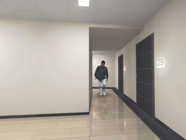 Жилой комплекс V-House. Общественные зоны © Архитектурная мастерская «Сергей Киселев и Партнеры»