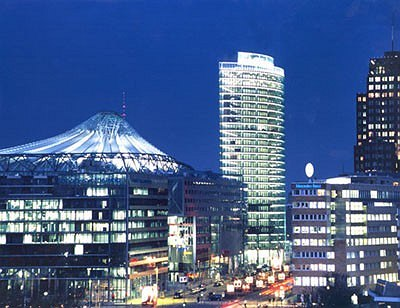 Sony Center. Берлин