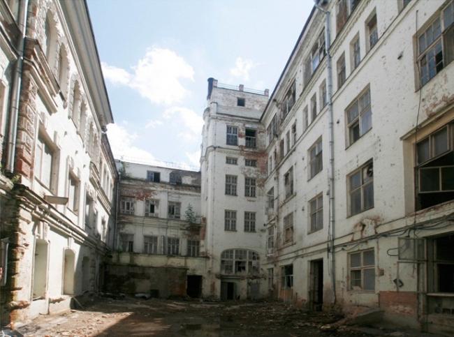 Комплекс исторических зданий на Большой Полянке. Существующее положение  © АБ «Цимайло, Ляшенко и партнеры»