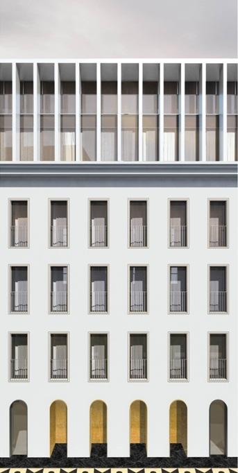 Проект регенерации комплекса зданий с приспособлением под жилье на Большой Полянке © АБ «Цимайло, Ляшенко и партнеры». Заказчик: «Полянка»