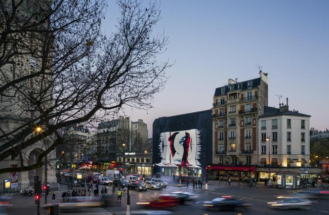 Кинотеатр Alésia – реконструкция © Luc Boegly