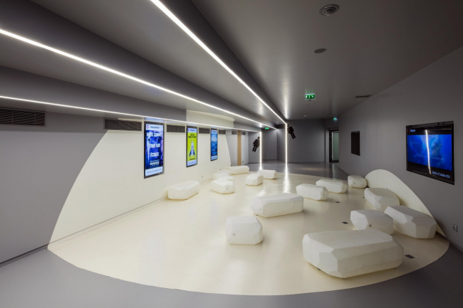 Кинотеатр Alésia – реконструкция © Guillaume Guerin