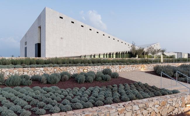 Палестинский музей © Iwan Baan