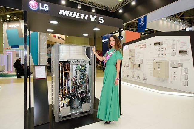 Новое поколение мультизональных (VFR) систем – MULTI V 5. Фотография предоставлена компанией LG Electronics