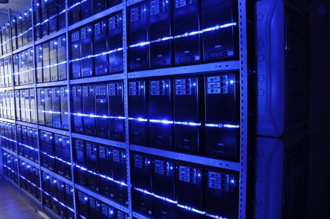 Помещение серверной. Лицензия CC BY-SA 3.0. Автор: BalticServers.com