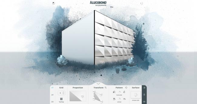 Проектирование фасадов с использованием ALUCOBOND®. Изображение предоставлено ALUCOBOND®