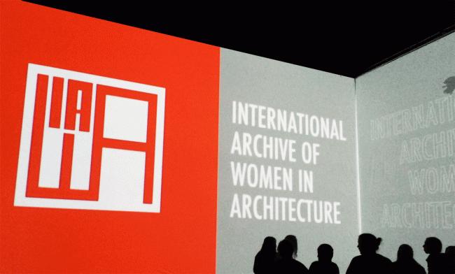Демонстрация фильма о Международном архиве в галерее Куб / предоставлено Анной Соколиной