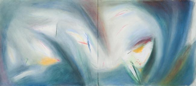 Кристиан де Портзампарк. Карандаш, пастель. 2007