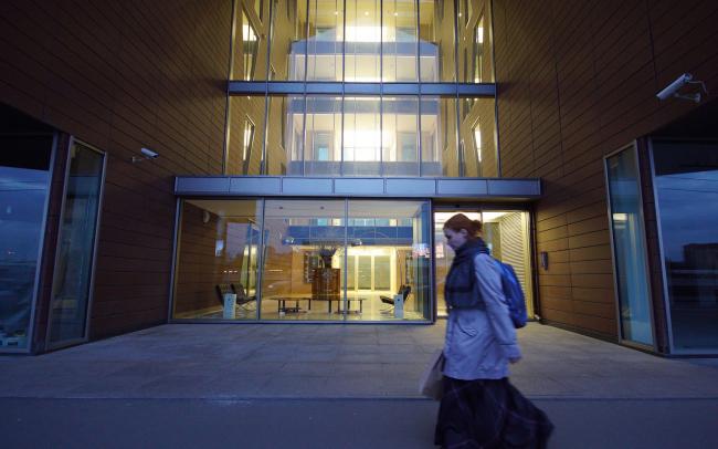 Жилой комплекс и офис на Пречистенской набережной. Реализация, 2015 Фото: И.Воронежский.© АБ Остоженка