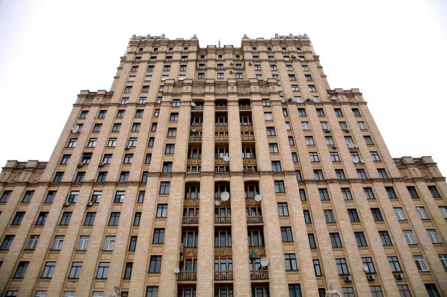 13. Высотное здание на площади Восстания в Москве, М.В.Посохин, А.А.Мндоянц, 1948-54
