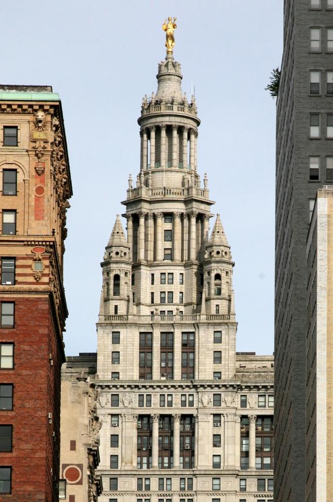 9. Муниципальное здание Манхэттена, арх. фирма Мак-Ким, Мид энд Уайт, 1909-1913
