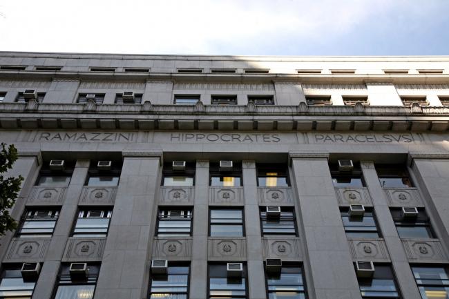 4. Здание департамента здоровья в Нью-Йорке, Ч.Маерс, 1934