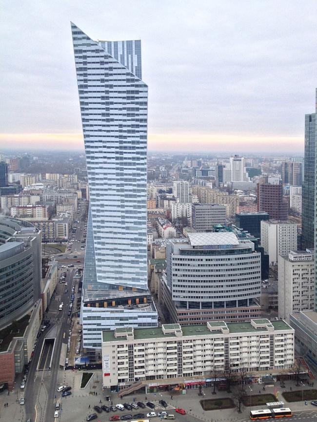Башня Złota 44. Фото: Achimbodewig via Wikimedia Commons. Лицензия Creative Commons Attribution-Share Alike 3.0 Unported