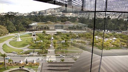 Калифорнийская Академия наук. Общий вид комплекса