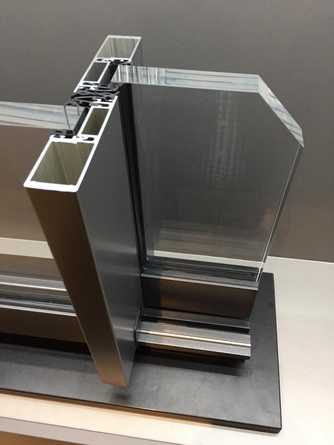 Выставка BAU-2017. Как рождается стеклянная архитектура. один из узлов. из Фото предоставлено АО «Татпроф»