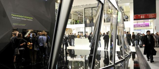 Выставка BAU-2017. один из стендов с светопрозрачными конструкциями. http://www.muenchen-ru.info