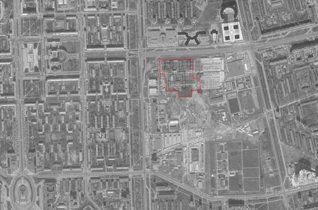 Жилой комплекс на ул. Типанова. Ситуационный план © Студия 44