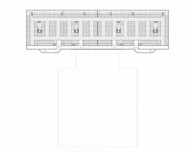 Жилой комплекс на ул. Типанова. План на отметке -6 000 © Студия 44