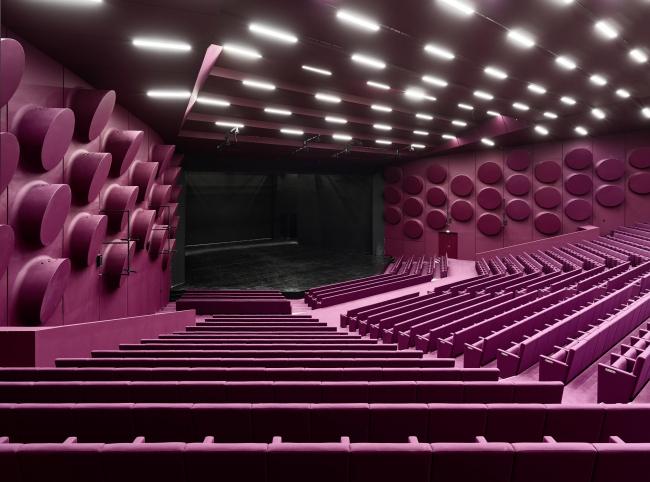 Дворец музыки и конгрессов – реконструкция. Зал «Швейцер» © Bruno Klomfar