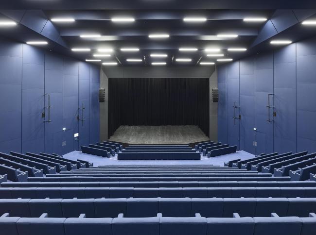 Дворец музыки и конгрессов – реконструкция. Зал «Кассен» © Bruno Klomfar