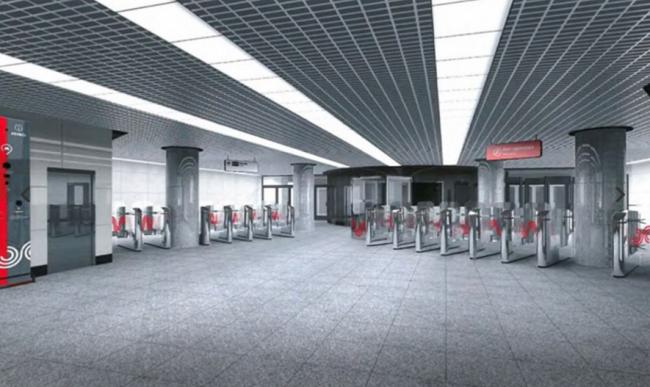 Станция метро «Фонвизинская» © ОАО «Метрогипротранс». Предоставлено пресс-службой «Москомархитектуры»