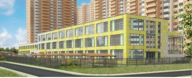 Школьный блок в Электролитном проезде © ООО «ЦНИИ-проектирование жилых и промышленных зданий». Предоставлено пресс-службой «Москомархитектуры»