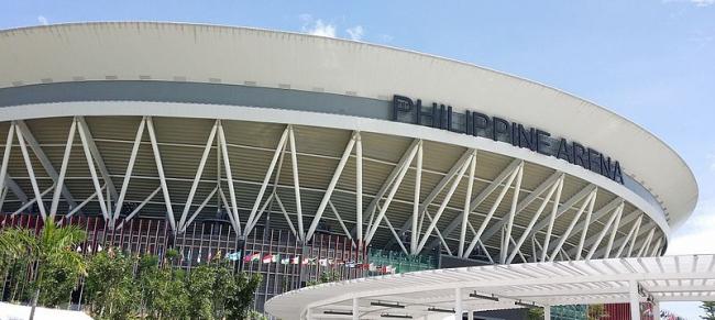 Стадион Philippine Arena. Фото: dann_garcia via Wikimedia Commons. Лицензия CC-BY-SA-2.0