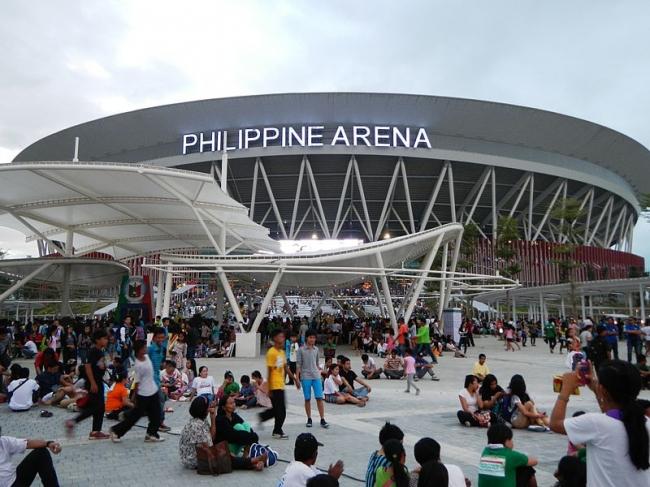 Стадион Philippine Arena. Фото: Judgefloro via Wikimedia Commons. Лицензия CC-BY-SA-4.0