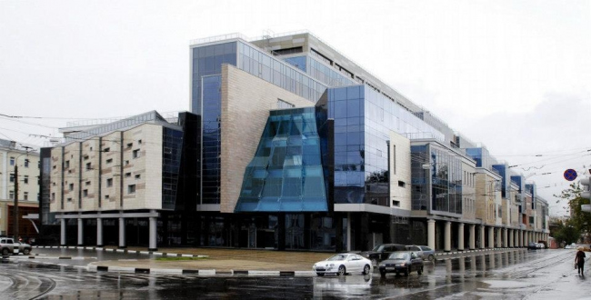 Многофункциональный комплекс «Лобачевский Plaza» © Творческая мастерская архитектора Быкова