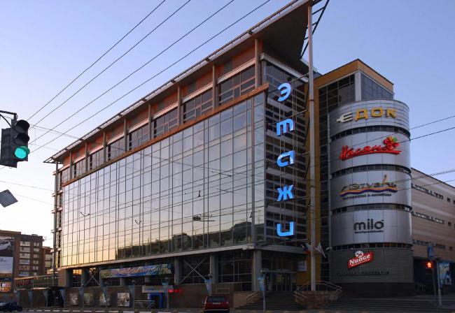 Торговый центр «Этажи», Нижний Новгород © Творческая мастерская архитектора Быкова