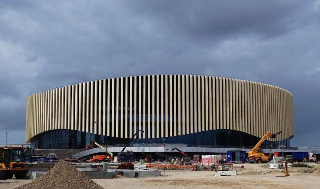 Стадион Royal Arena. Фото: Jens Cederskjold via Wikimedia Commons. Лицензия CC BY 3.0