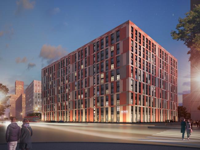 ZilArt residential complex © Eugene Gerasimov and Partners