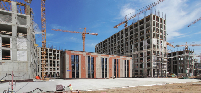 ZilArt residential complex in the process of construction © Eugene Gerasimov and Partners