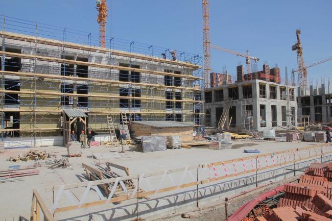 Жилой комплекс ЗИЛАРТ в процессе строительства © Евгений Герасимов и партнеры