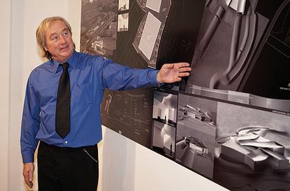 Стивен Холл представляет свой проект Центра искусств Хернинга