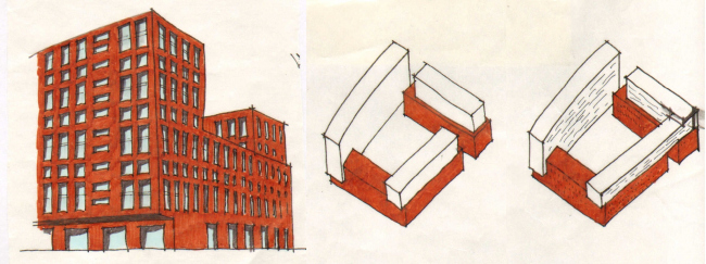 ZilArt residential complex. Layout © Eugene Gerasimov and Partners