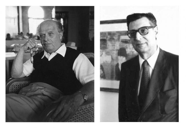 Адриано Оливетти и Ренцо Дзордзи