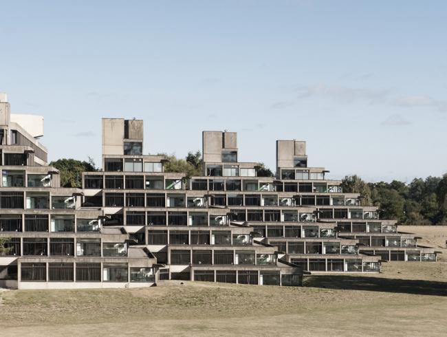 Университет Восточной Англии в Норидже. 1964-1968 гг. Архитектор Денис Лэсдан