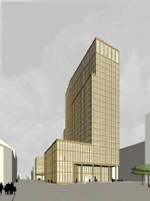 Отель Эмпайр Риверсайд. Проект