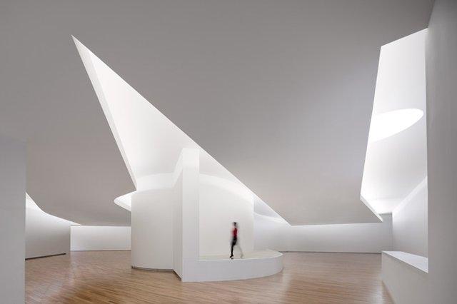 Музей в Южной Корее. Архитектор: Алваро Сиза. Изображение предоставлено МАРШ