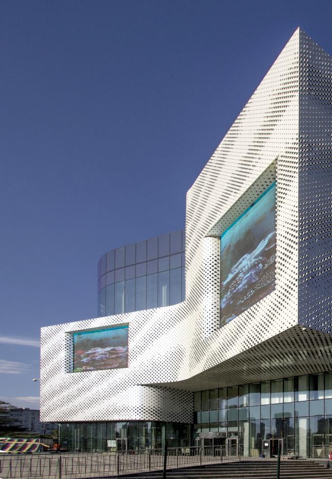 Многофункциональный общественный центр «Океания» (концепция решения фасадов) © Архитектурное бюро Асадова