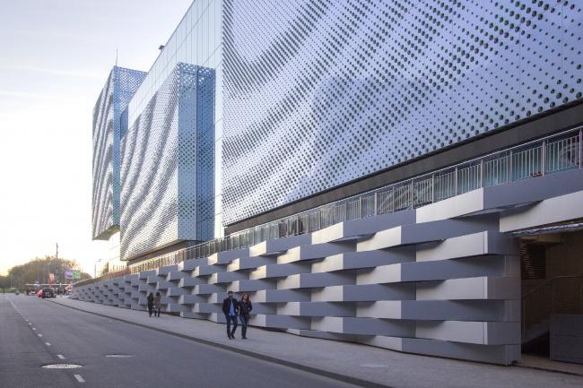 Многофункциональный центр «Океания» (решение фасадов) © Архитектурное бюро Асадова