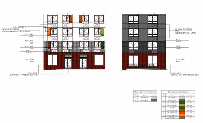 Жилые дома в квартале «Бунинские луга». Фрагмент фасада © ООО «ПИК-Проект». Предоставлено пресс-службой «Москомархитектуры»