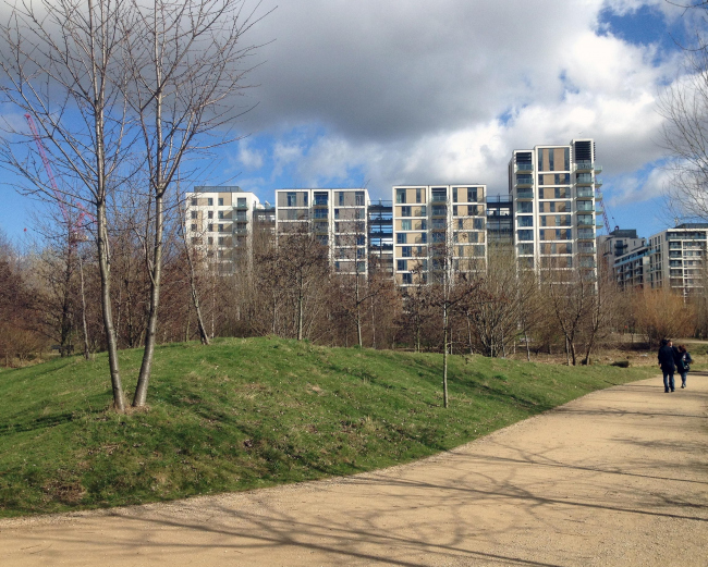 К Олимпиаде-2012 в Лондоне разбили аутентичный парк – болотный – с соответствующим ландшафтом и наполнением.  Фото Марины Игнатушко