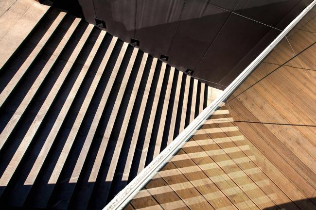 Вид на центральную лестницу сверху © «Брусника.Екатеринбург»