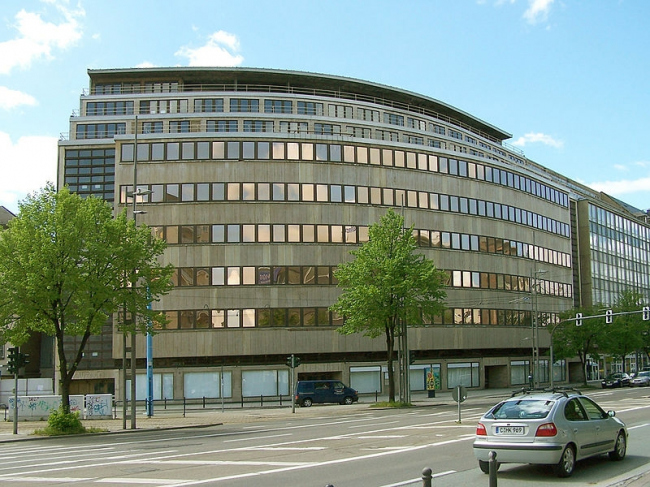 Универмаг Шоккена в Хемнице. Фото: Jörg Zägel via Wikimedia Commons. Лицензия Creative Commons Attribution-Share Alike 3.0 Unported