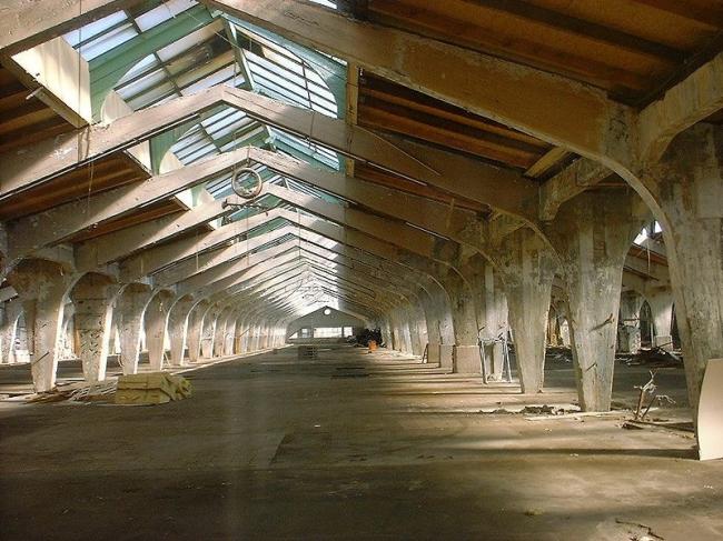 Шляпная фабрика Friedrich Steinberg, Herrmann & Co. в Луккенвальде. Фото: Doris Antony, Berlin via Wikimedia Commons. Лицензии GFDL и CC-BY-SA-2.5