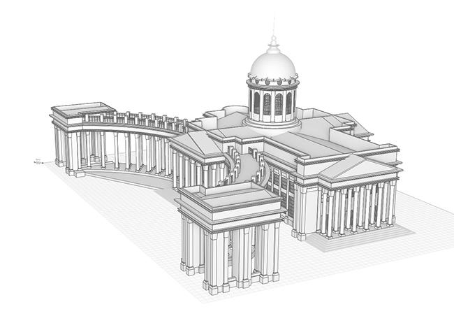 Казанский собор. Булатова Евгения (г. Салават)